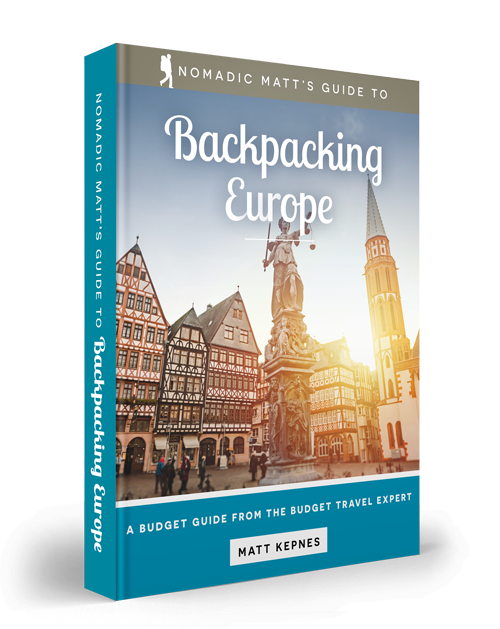 backpacking Europe guidebook
