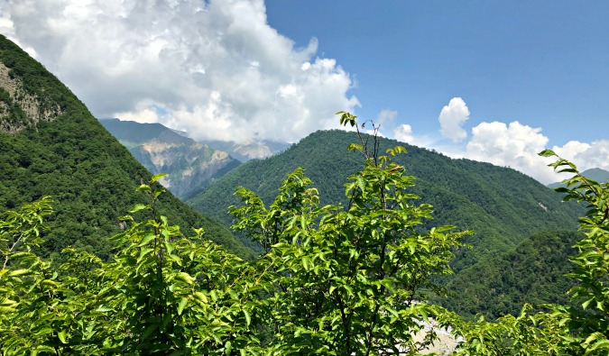 mountains in Azerbaijan