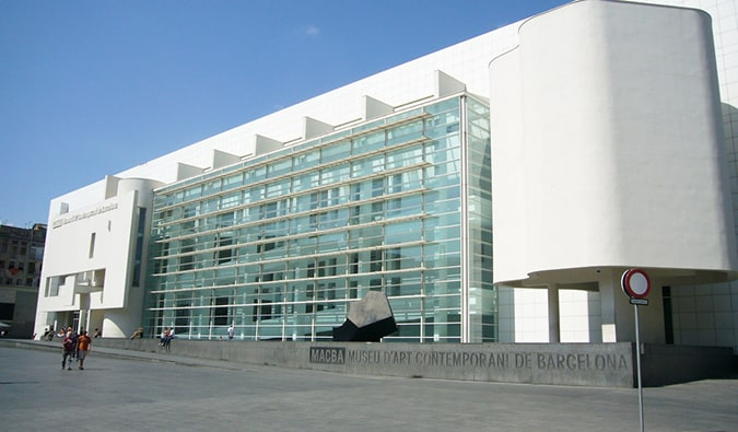 Barcelona Museum of Contemporary Art; Photo by Rob Green (flickr:@keekat)