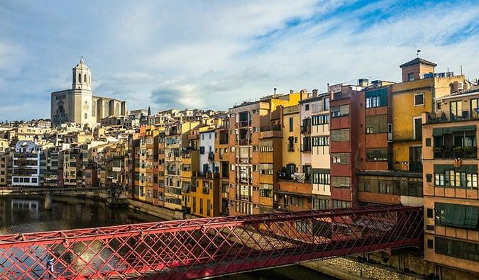 Girona, just outside Barcelona