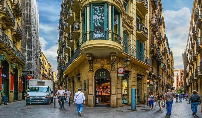 Quartier gothique de Barcelone