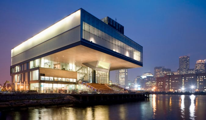 the Boston Institute of Contemporary Art