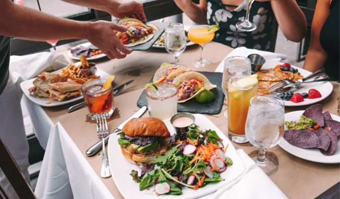 Bottomless brunch at Agave, NYC