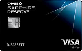 chase reserve credit card
