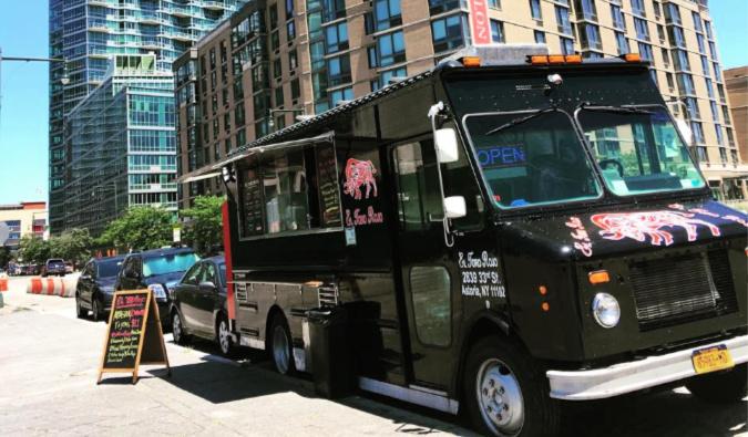 El Toro Rojo food truck in NYC