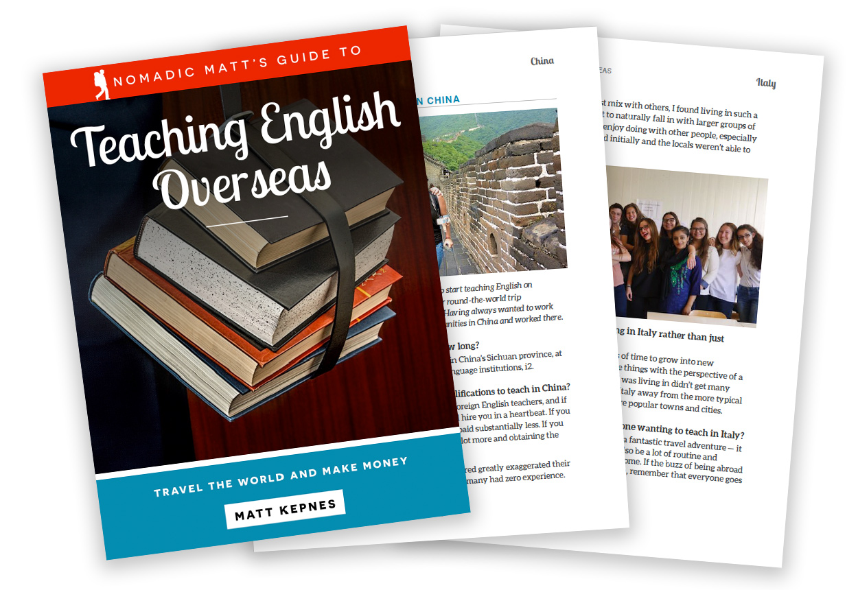 The 9 BEST Places to Teach English Overseas in 2019 | Nomadic Matt
