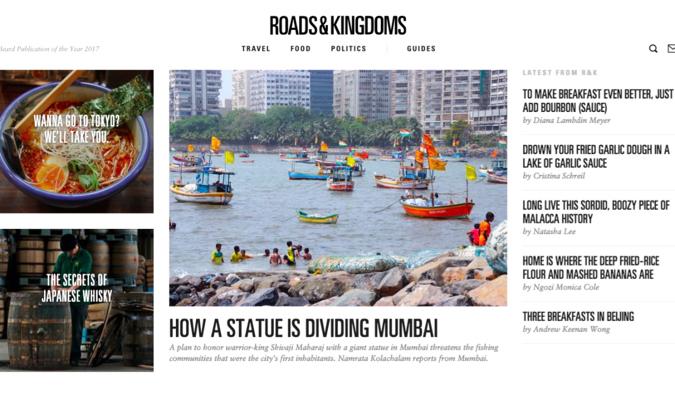 roads and kingdoms blog screenshot