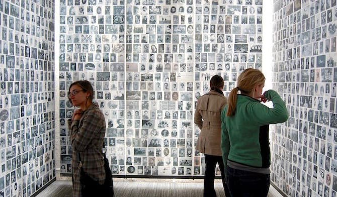 The Museum of the Shoah (the Holocaust Museum) in Paris, France