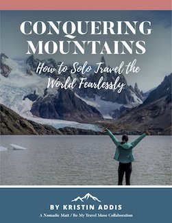 Solo female travel guidebook