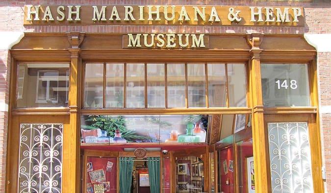 The Hash Marihuana & Hemp Museum in Amsterdam