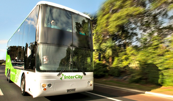 Intercity bus, New Zealand