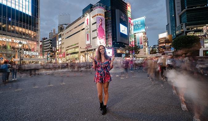 Kristin Addis in Japan