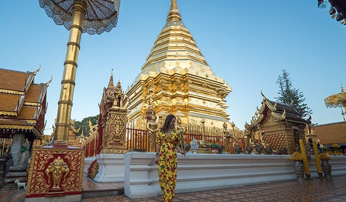 Kristin Addis in Thailand