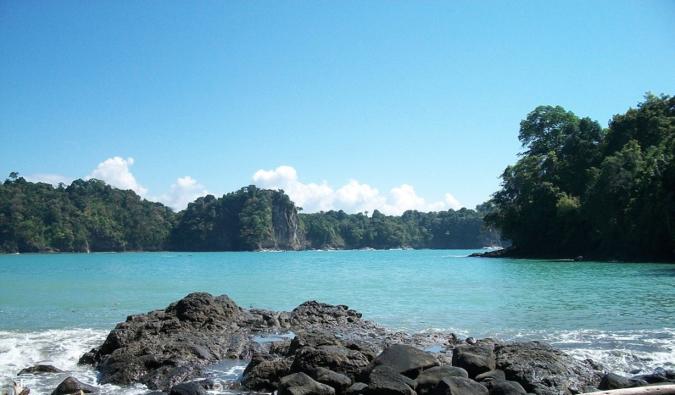 a gorgeous beach in costa rica