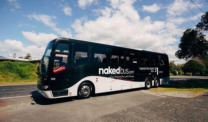 Naked Bus, New Zealand
