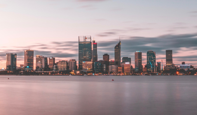 the city of Perth