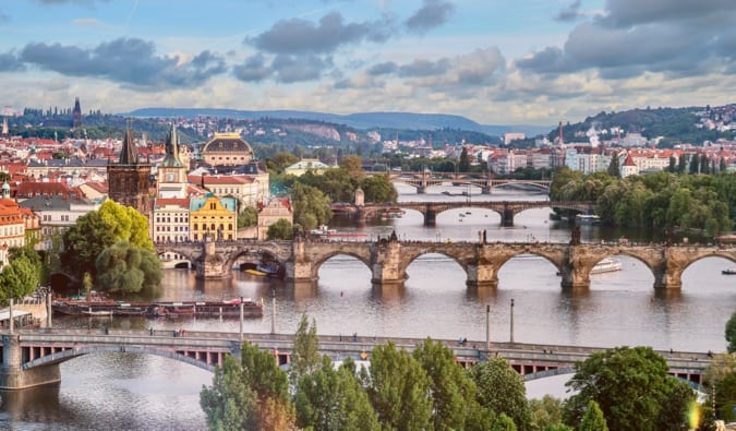 a picture of prague