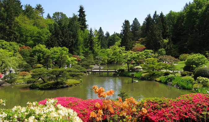 Seattle's Japanese Garden; Photo by Tony Kent (flickr:@maralinga)