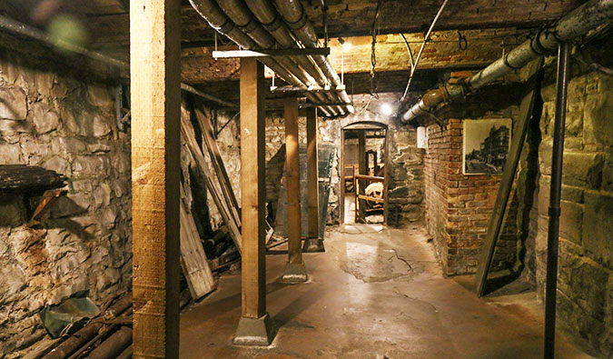 Seattle's Underground Tour; Photo by Jeroen van Luin (flickr:@-jvl-)
