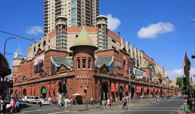 Paddington market, Sydney