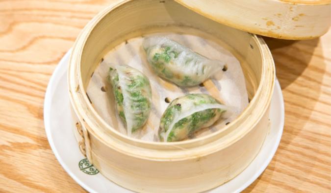 dumplings from Tim Ho Wan