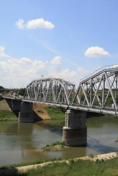 a bridge in Bender Moldova