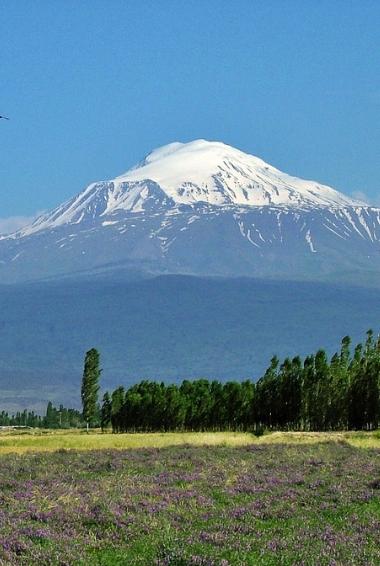 Photograph of Mount Ararat in Armenia courtesy of Henri Nissen