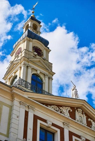 The Historic center in Riga, Latvia