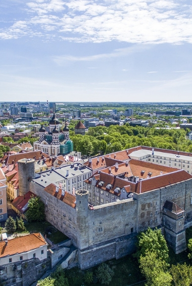 Middle Ages Tallinn Church Historic Center Estonia