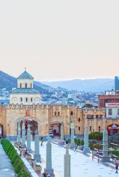 The main church in Tbilisi Georgia