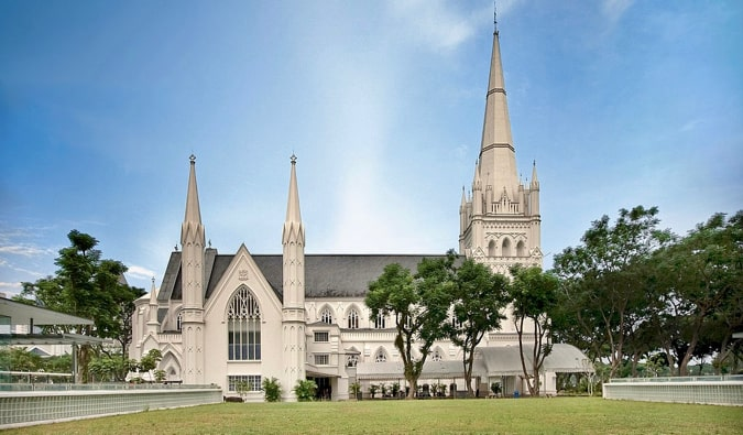 Saint Andrew's Cathedral in Singapore