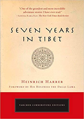 7 Years in Tibet book cover
