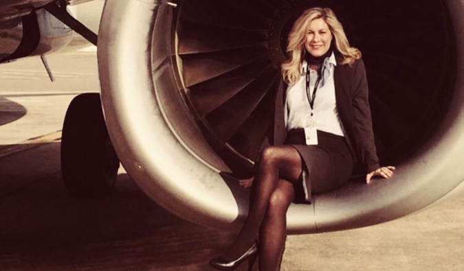 author and flight attendent Heather Poole