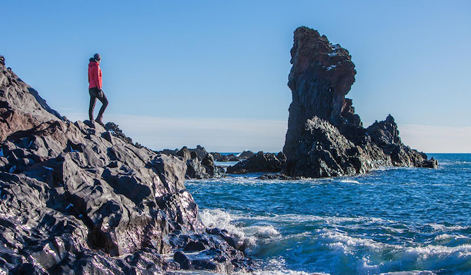 Extreme Iceland coastal hiking