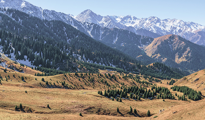Kazakhstan mountains