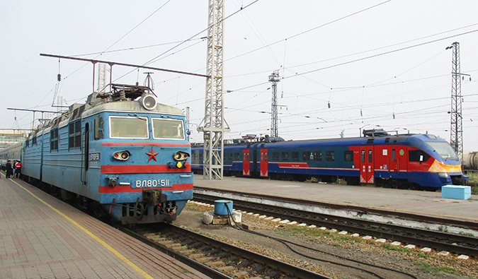 Kazakhstan trains