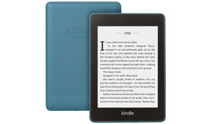 a kindle from Amazon