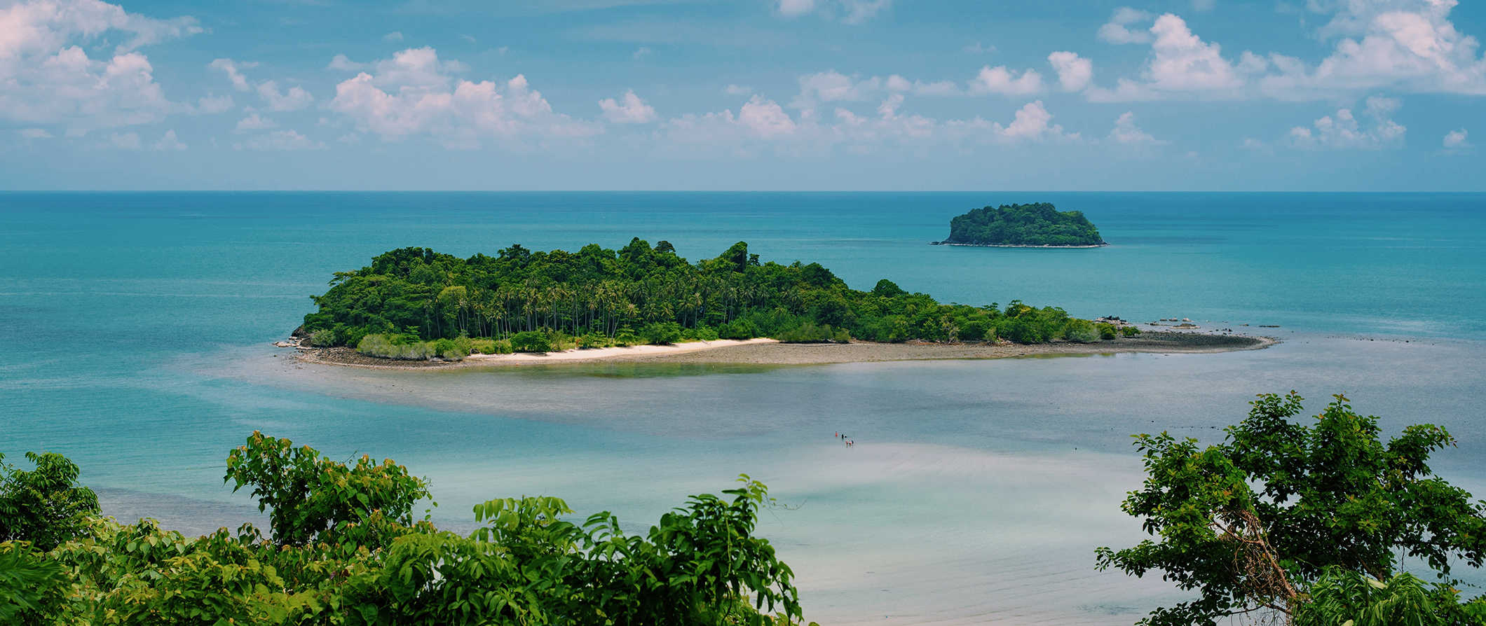 The beautiful scenery of Ko Chang, Thailand