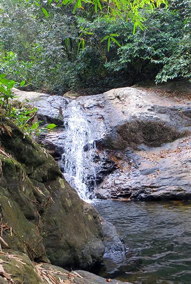 a waterfall on Ko Chang; photo by Franklin Heijnen (flickr:@franklinheijnen)