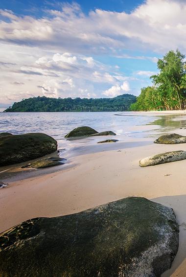 the isolated island of Ko Kood