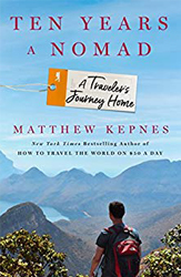 10 Years a Nomad book cover by Matt Kepnes