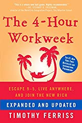 The Four Hour Work Week book cover