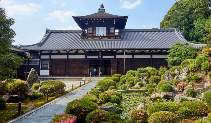 the contemplative Tofuku-ji temple in Kyoto, Japan