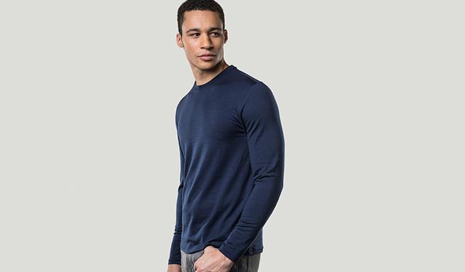 Unbound Merino wool shirt
