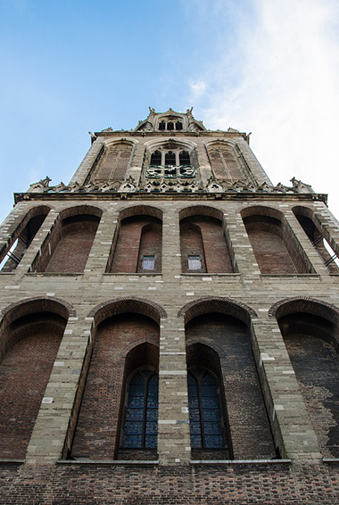 the Domtoren, the cathedral's tower in Utrecht