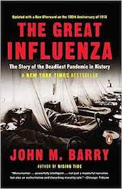 The Great Influenza book cover