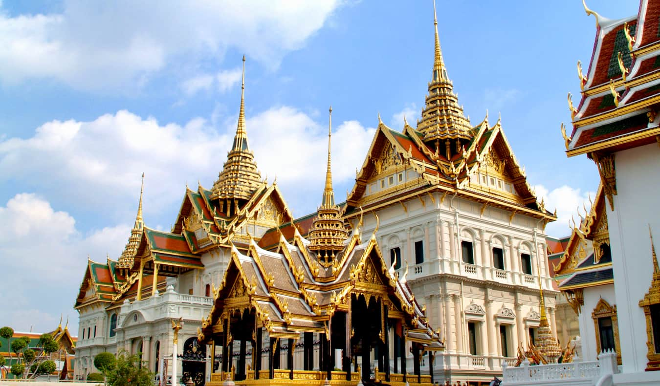 One of the many temples in Bangkok, Thailand