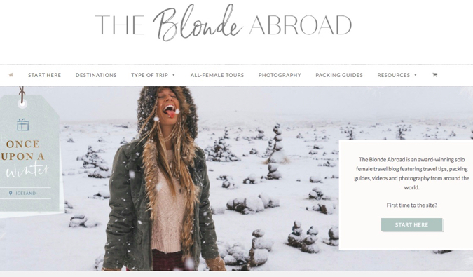 the blonde abroad screenshot