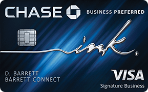 the chase business preferred credit card
