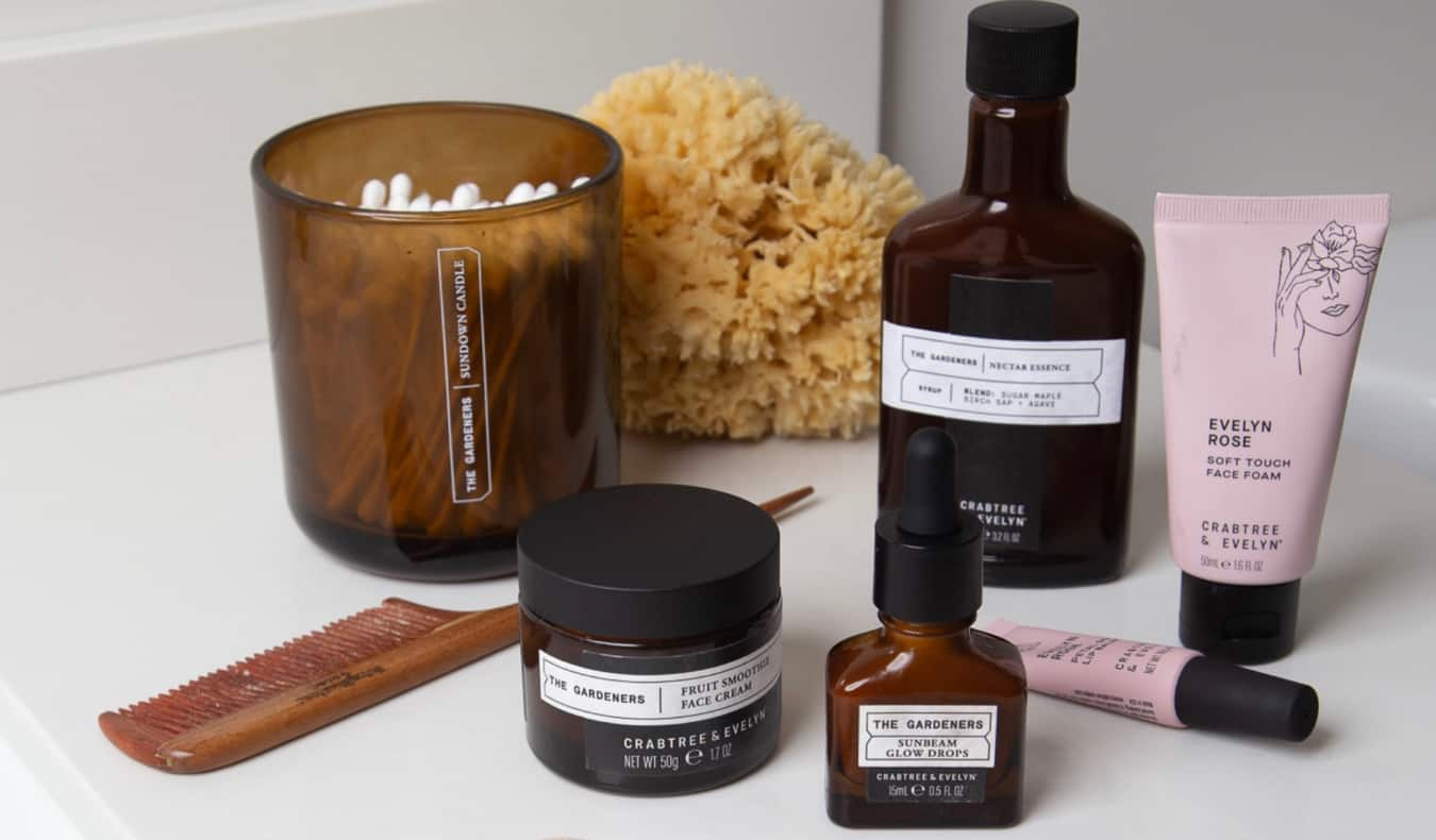 New products from Crabtree & Evelyn